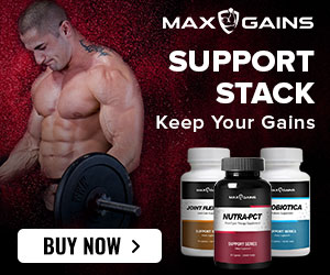 ad max gains muscle stack
