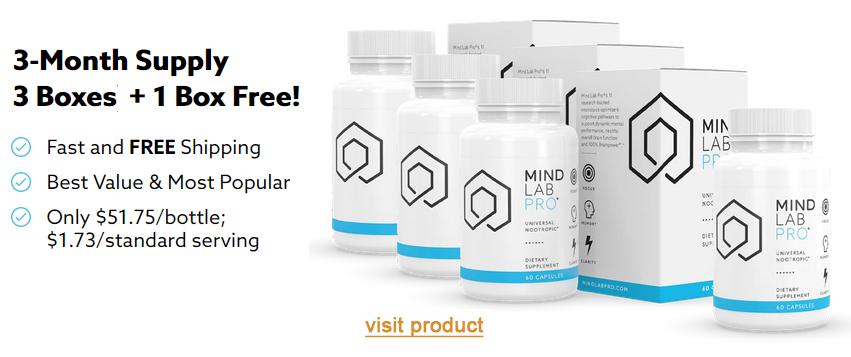 mind lab pro 3 month special bottles